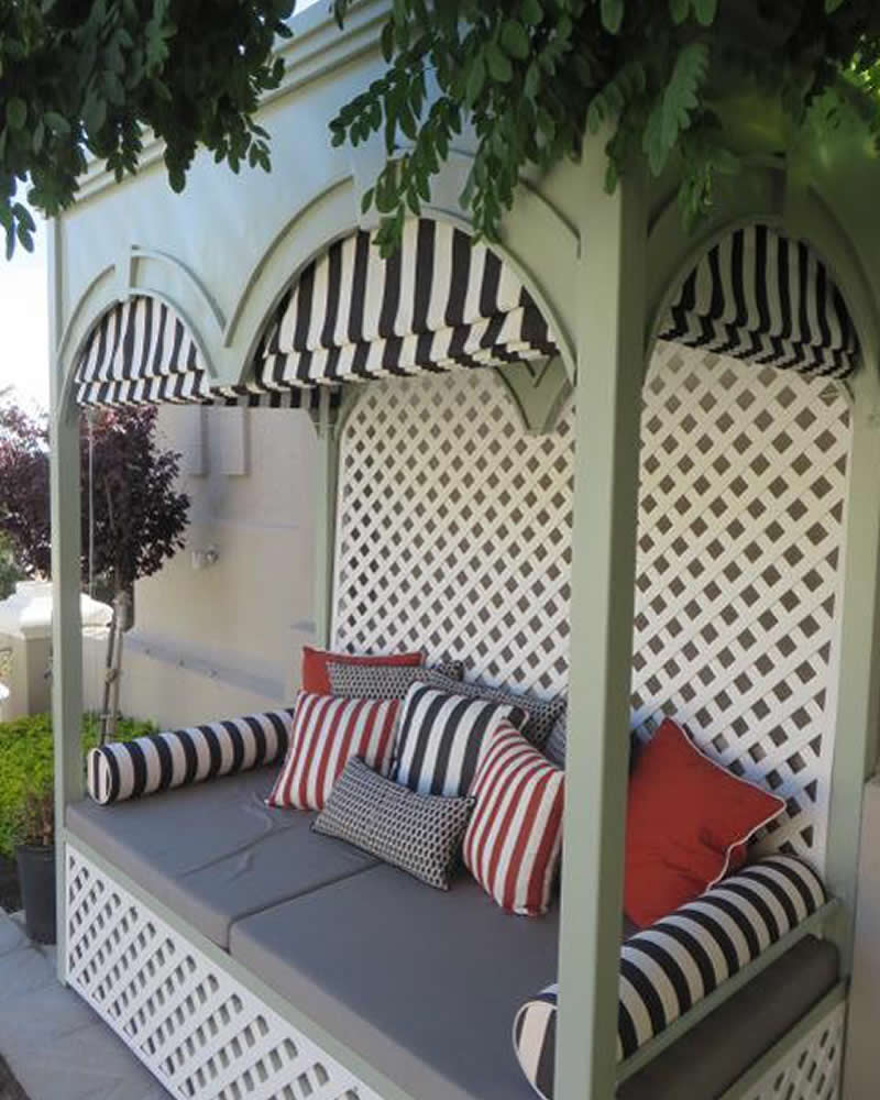 Belvedere Folly Outdoor Seating