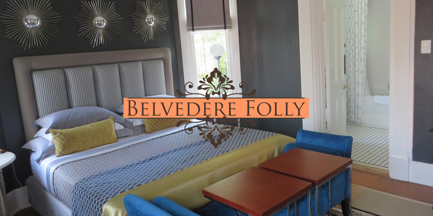 Belvedere Folly bedroom